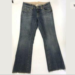 Banana Republic Jeans Bootcut  Flap Pocket Stretch